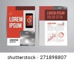 vector design brochure template ... | Shutterstock .eps vector #271898807