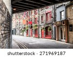 one beautiful  street  in... | Shutterstock . vector #271969187