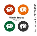 faq icon | Shutterstock .eps vector #272004743