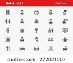hotel icons. professional ... | Shutterstock .eps vector #272021507