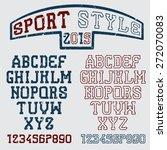 Grunge Serif Font In The Retro...