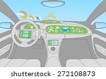 head up display  hud  and... | Shutterstock .eps vector #272108873