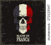 skull color of the flag | Shutterstock .eps vector #272125547