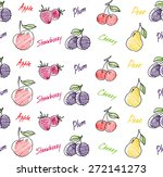 fruits seamless pattern for... | Shutterstock .eps vector #272141273