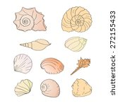 vector illustration   set of... | Shutterstock .eps vector #272155433