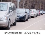 image of a vehicles parked in...   Shutterstock . vector #272174753
