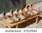 authentic turkish woman's shoes ... | Shutterstock . vector #27219964