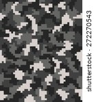 seamless pattern of digital... | Shutterstock .eps vector #272270543