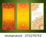 Set Of Three Banners With...