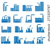 building icons | Shutterstock .eps vector #272329787