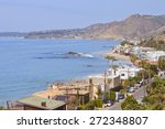 beautiful view of malibu... | Shutterstock . vector #272348807