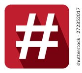 Red Square Hashtag  Tag Long...