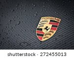 Постер, плакат: Porsche emblem carbon Ferdinand