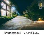 Walkway Between Buildings At...