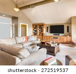 living room in new house  large ... | Shutterstock . vector #272519537