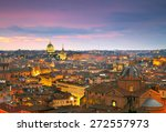 wonderful view of rome at... | Shutterstock . vector #272557973
