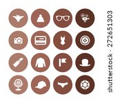 accessories icons universal set ... | Shutterstock .eps vector #272651303