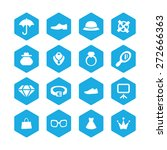accessories icons universal set ... | Shutterstock .eps vector #272666363