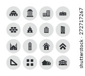 architecture icons universal... | Shutterstock .eps vector #272717267