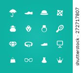 accessories icons universal set ... | Shutterstock .eps vector #272717807
