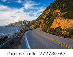 Pacific Coast Highway And View...