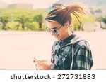 lifestyle portrait of a young... | Shutterstock . vector #272731883