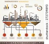 industry infographics template  ... | Shutterstock .eps vector #272739893