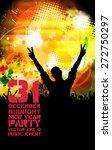 music event background  vector | Shutterstock .eps vector #272750297