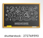 medical hand draw integrate... | Shutterstock .eps vector #272769593