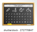 design tools hand drawing line... | Shutterstock .eps vector #272770847