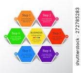 template for diagram  graph ... | Shutterstock .eps vector #272785283