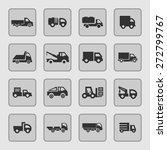 truck icon set | Shutterstock .eps vector #272799767