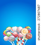 lollipops  candys and sweets  ... | Shutterstock .eps vector #272807687