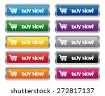 buy now metallic rectangular... | Shutterstock .eps vector #272817137