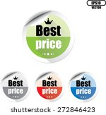 best price colorful stickers... | Shutterstock .eps vector #272846423