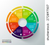 vector circle elements for... | Shutterstock .eps vector #272897507