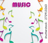 eps10 vector music note...   Shutterstock .eps vector #272913263