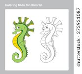 coloring page for kid s games... | Shutterstock .eps vector #272921087