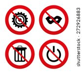 no  ban or stop signs.... | Shutterstock .eps vector #272926883