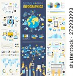 news infographic set with... | Shutterstock .eps vector #272933993