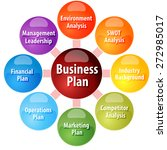 business strategy concept... | Shutterstock . vector #272985017