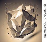 contemporary technology bronze... | Shutterstock . vector #272985323