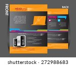 flyer  magazine cover  brochure ... | Shutterstock .eps vector #272988683