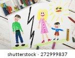 representation of marriage... | Shutterstock . vector #272999837