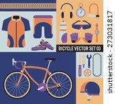 bicycle vector set 03   vintage ... | Shutterstock .eps vector #273031817