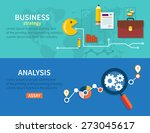 creating business strategy plan ... | Shutterstock .eps vector #273045617