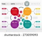 web template for circle diagram ...   Shutterstock .eps vector #273059093
