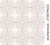 oriental vector fine pattern...   Shutterstock .eps vector #273079613