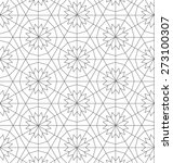 geometric repeatable  pattern   ... | Shutterstock .eps vector #273100307