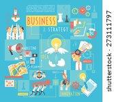 startup business plan strategic ... | Shutterstock .eps vector #273111797